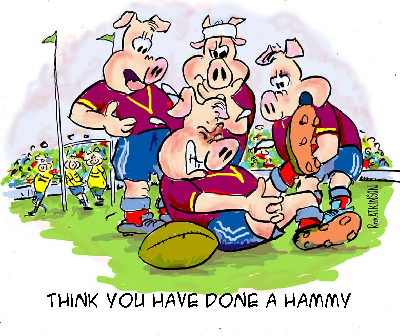 Old Rugby Player Jokes: Ako's Cartoons