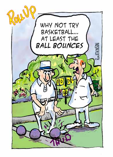 Lawn Bowls Ako S Cartoons Page 6 Crown green bowls (or crown green) is a code of bowls played outdoors on a grass or artificial turf surface known as a bowling green. lawn bowls ako s cartoons page 6