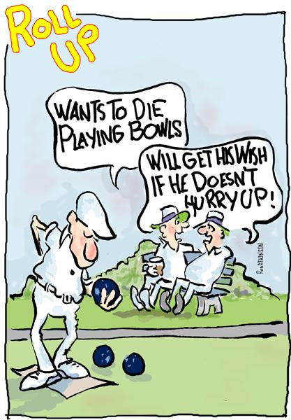 lawn bowls ako s cartoons page 2