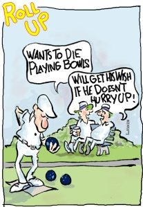 die playing bowls