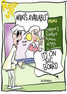 menu blindman